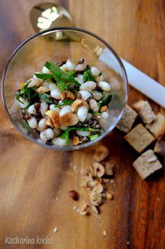 Wie ich einmal versuchte, die Biochemie zu verstehen. Plus: Bohnen-Linsen-Salat mit Haselnussöl | Katharina kocht