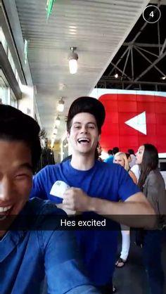 NEW - Ki Hong Lee Snapchat | this might be the most adorable thing ever.
