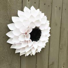 "210 Likes, 9 Comments - Bella Luna's Flowers (@bella.lunas.flowers) on Instagram: ""Paper Flower Dahlia Home Decor For Sale here at: Etsy.com/shop/BellaLunasFlowers #etsyfinds #etsy…"""