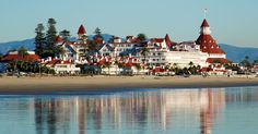 Can't wait to go here! The historic Hotel del Coronado, as featured in Some Like it Hot and many other films.