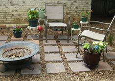 ❤ Easy DIY Backyard Seating Area Ideas on A Budget - slab of concrete subsequent to the again of your own home, or are beginning over with seating areas that acquired plunked right here and there within the leftover bits of your backyard. Cheap Landscaping Ideas, Small Backyard Landscaping, Backyard Ideas, Landscaping Design, Patio Ideas, Outdoor Ideas, Backyard Designs, Fence Landscaping, Outdoor Decor