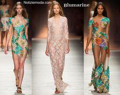 Abiti Blumarine primavera estate 2015 moda donna