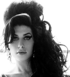 Amy Winehouse Black and white Photo portrait