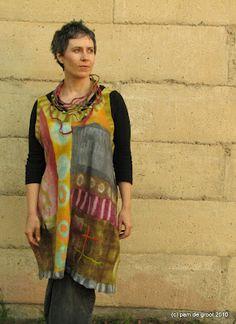 Pam de Groot -- amazing felt artist