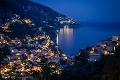 Positano, on the Amalfi Coast Italy