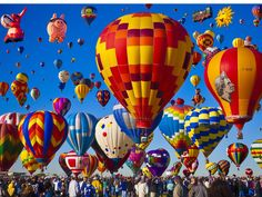 Stunning Time-Lapse Video of the Alburquerque Balloon Festival — it's absolutely breathtaking!