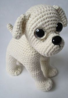 Amigurumi Bulldog Pattern by Denizmum on Etsy dogamigurumi bulldog pattern puppys inspiration and soPATTERN DEAL Buy 4 get 1 free ! You can order any 4 pattern and get 1 free . Please advise your choise when purchasing.Sad Puppy Crochet Amigurumi by Cute Crochet, Crochet Crafts, Crochet Dolls, Crochet Baby, Crochet Projects, Knit Crochet, Diy Crafts, Amigurumi Patterns, Amigurumi Doll