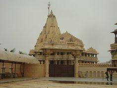 Somnath temple in Saurashtra region, Gujarat.