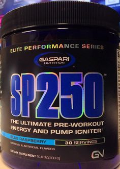 The Gaspari SP250 ingredients have been revealed, so our research is below to close down the week: https://blog.priceplow.com/supplement-news/sp250 Despite the hodge-podge of prop blends and seemingly low-dosed ingredients (for having 250mg caffeine per scoop), there's no arguing that the new Official Gaspari Nutrition® is doing things DIFFERENTLY with some very new ingredients, which is sometimes all we can ask for. At the end of the day, this one's going to be a total crapshoot, and come…