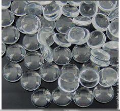 Купить Имитация капелек росы, материал стекло, прозрачные, 50 шт. - росинка, роса