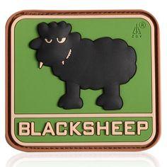 3D Rubber Patch Black Sheep multicam Shops, Cool Patches, Morale Patch, Black Sheep, Fan, Tactical Patches, Tents, Retail, Hand Fan