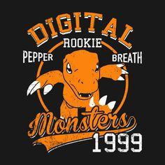 PEPPER BREATHE T-Shirt $12.99 Digimon tee at Pop Up Tee!