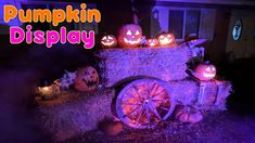 Pumpkin Patch Yard Display | Halloween Decoration Ideas