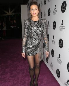 Kate Beckinsale Attends LA Art Show 2019 - CelebVegas Kate Beckinsale Hot, Kate Beckinsale Pictures, Nylons, In Pantyhose, Tights And Heels, Sexy Legs And Heels, Pantyhose Fashion, Fashion Tights, Women's Fashion