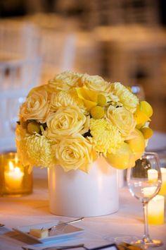 Yellow Flowers   Lemons Artisan Events, Designer Event Chicago, River East Art Center, Botanicals