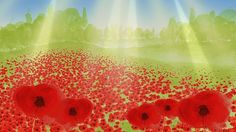 'Poppies' - animation shown on the BBC's childrens channels during the silence on remembrance Sunday and Armistice Day Remembrance Day Activities, Remembrance Day Art, Eyfs Activities, Armistice Day, Lest We Forget, Autumn Theme, Memorial Day, Light In The Dark, Art Lessons