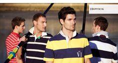 modern style polo shirt.