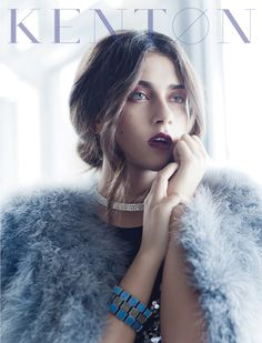 Winter Violet on Fashion Served