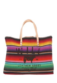 Guatemalan Carry All by WILL Leather Goods