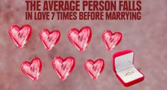 Pretty sure I have truly fell in live at least that many times with my fiancé! Love Facts, Wtf Fun Facts, Random Facts, Random Stuff, Reality Of Life, Reality Check, Person Falling, Falling In Love, Stupid Love