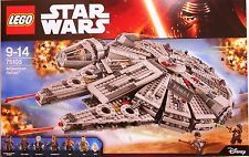 Lego Star Wars Millennium Falcon 1329 PC 75105 The Force Awakens 7 Minifigs for sale online Lego War, Buy Lego, Legos, Lego Disney, Disney Star Wars, Millennium Falcon, Star Wars Games, Lego Star Wars, Lego