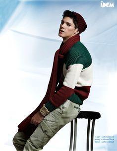 "Editorial de moda masculina ""Sjöman"" del Director de Arte y Estilista de moda Alejandro Núñez para el número de Diciembre'15 de la revista internacional Idem Magazine"