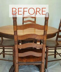 Dining room table redo DIY. We're totally re-doing our dining room table after seeing these ideas.