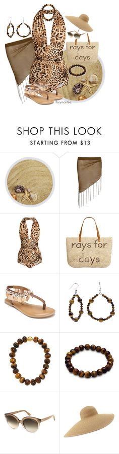 """Rays For Days"" by florymcintee ❤ liked on Polyvore featuring Boohoo, Norma Kamali, Style & Co., Penny Loves Kenny, Arthur Marder Fine Jewelry, Tom Ford and Eric Javits"