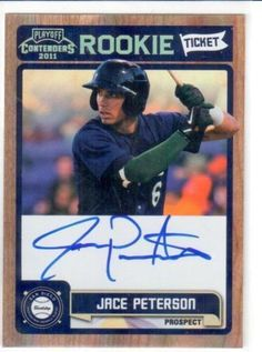 2011 Contenders JACE PETERSON ROOKIE Ticket AUTO! #RT47 MINT FROM PACK