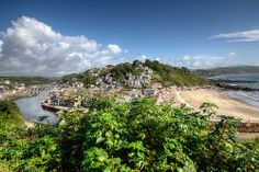 Looe River and Town Beach, South East Cornwall | Flickr - Photo Sharing!