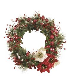 Another great find on #zulily! Pomegranate Wreath #zulilyfinds