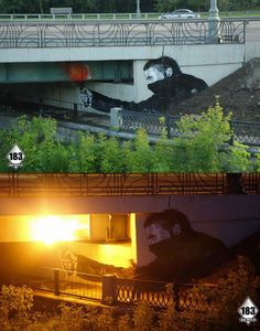 Collection of amazing street art, graffiti art & urban art on Mr Pilgrim online. See more including original street art for sale from UK artist. 3d Street Art, Best Street Art, Amazing Street Art, Street Art Graffiti, Amazing Art, Street Lamp, Art Banksy, Graffiti Artwork, Bansky