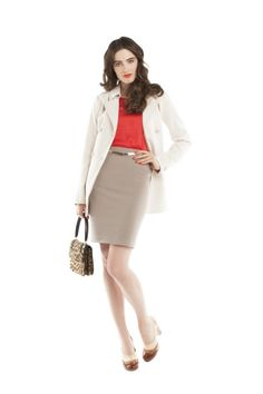 Pencil skirt outfit | JACOB's March Lookbook - 2013