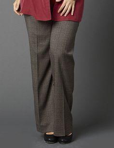 22ed79e0262 Classic mens-wear black slacks with subtle cream and burgundy cross threads.