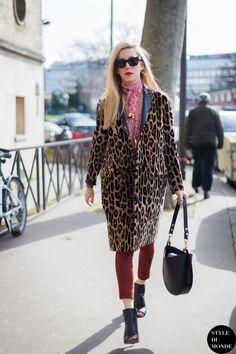 leo love. #JoannaHillman in Paris.