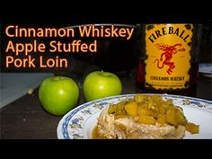 Dutch Oven Cinnamon Whiskey Apple Stuffed Pork Loin - YouTube