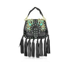 Gedebe Designer Handbags Alice Small Black Leather Handbag (12.750 ARS) ❤ liked on Polyvore featuring bags, handbags, shoulder bags, black, leather handbags bags, leather handbag purse, handbag purse, genuine leather bags and leather purses