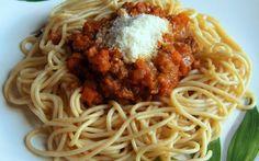 Recette - Spaghettis à la sauce bolognaise, ma recette secrète   Notée 4/5