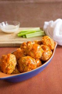 Buffalo Chicken Balls- YUM!