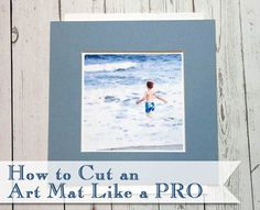 You too can easily cut your own art mats like a pro. Save money and time by creating your own art and matting and framing it yourself.