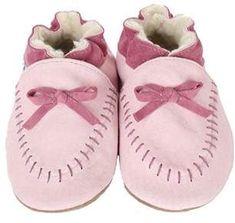 Robeez Infant Toddler Girls  Cozy Moccasin - Pink Slip-on Shoes cfed6ae0c70