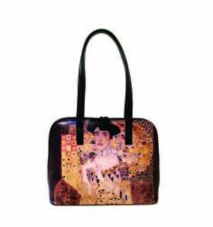 Ručne maľovaná kabelka 8573 inšpirovaná motívom Gustav Klimt