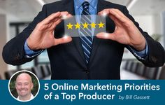 5 Online Marketing Priorities of a Top Producing Real Estate Agent:  https://placester.com/real-estate-marketing-academy/5-marketing-tips-successful-real-estate-agent/  #realestate