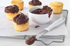 Spread this BAKER'S ONE BOWL Chocolate Frosting on cakes, cookies and more. No dessert is complete without our chocolate frosting!
