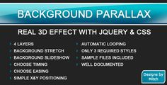 Buy Background Parallax by mgunnels on CodeCanyon. The easiest way to get a parallax effect on your website. Web Design, Coding, 3d, Tips, Design Web, Website Designs, Programming, Site Design, Counseling