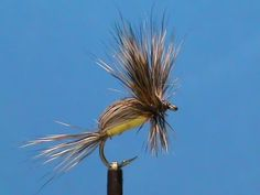 Fly Tying for Beginners a Yellow Humpy with Jim Misiura