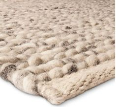 $599 7x10  Target home home décor rugs area rugs Chunky Knit Braided Wool Rug - The Industrial Shop