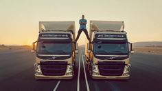 "Volvo's ""The most epic of splits"" commercial has proven that through effective…"