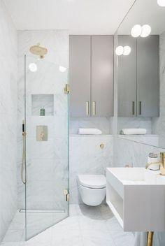 Te presentamos 8 consejos e ideas para baños pequeños. La falta de metros cuadrados no tiene porque resultar en espacios con menos estilo y confort.