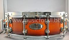 New & Factory Sealed Pearl Reference 14x5 Snare Drum in Vintage Tobacco Burst #342 - Free Ship USA - Ships Cheap Worldwide! http://www.musicforall.biz/